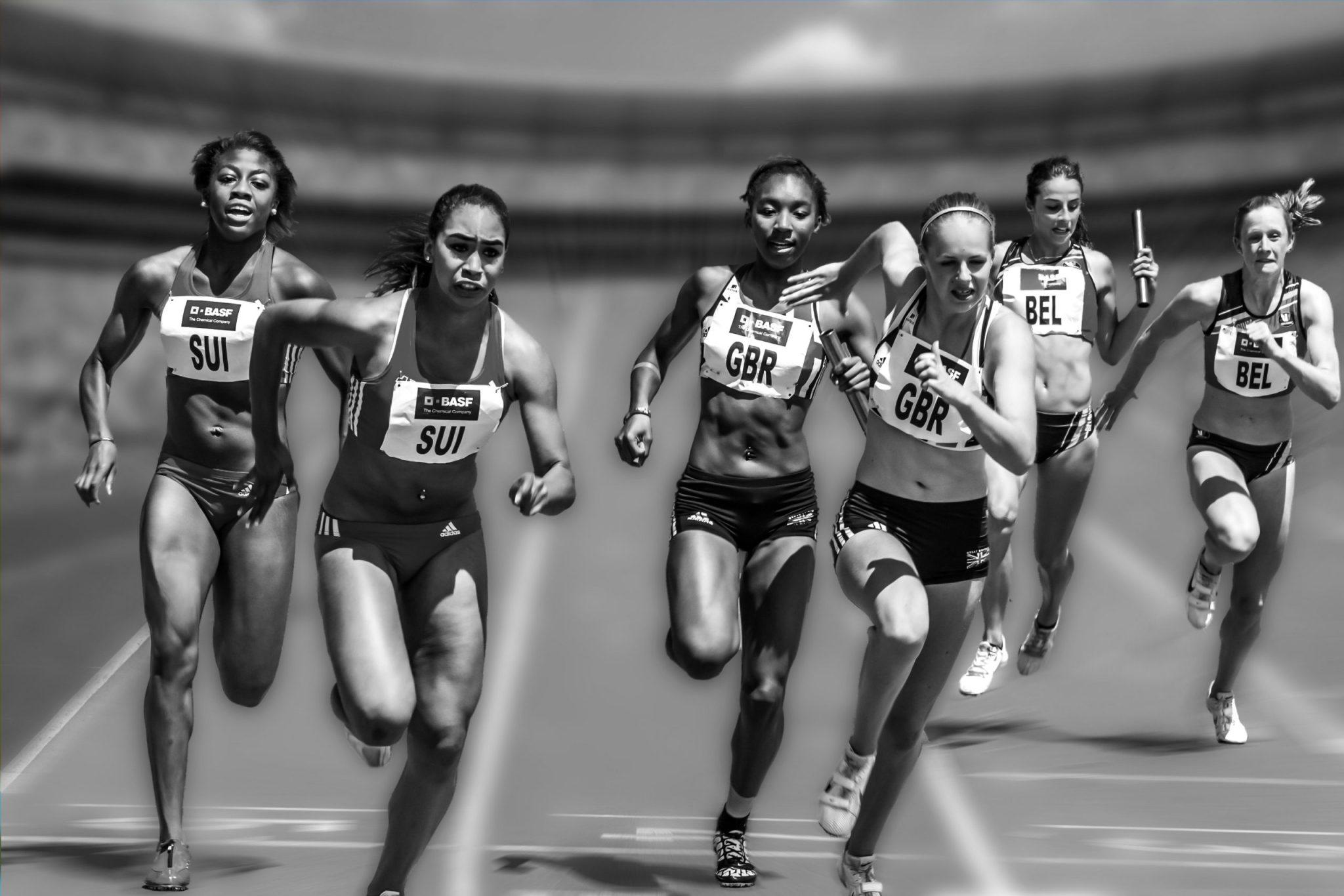 athletes-athletics-black-and-white-33703